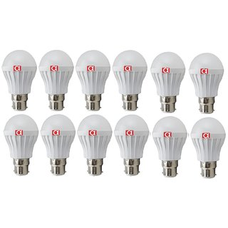 Alpha 5 Watt led bulb pack of 12