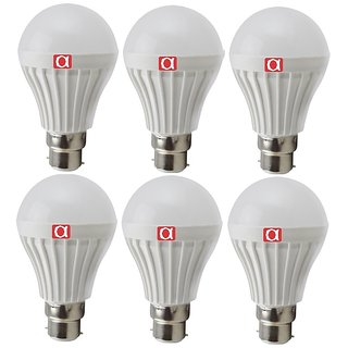 Alpha 7 Watt bulb pack of 6