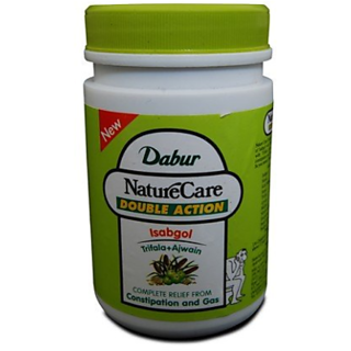 Dabur Nature Care Isabgol Double Action (Pack of 2) - 100gms