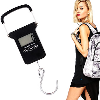 Portable 40KG Digital Luggage Fish Hook Hanging Weight Weighing Scale -21