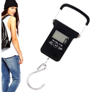 40KG Portable Digital Luggage Fish Hook Hanging Weight Weighing Scale -21