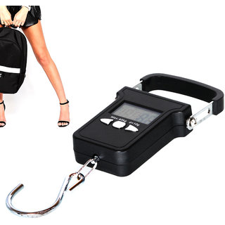 Digital Portable 40KG Luggage Fish Hook Hanging Weight Weighing Scale -21