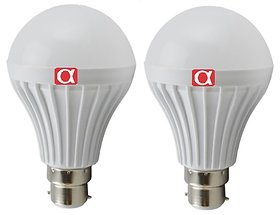 Alpha 9 Watt bulb pack of 2