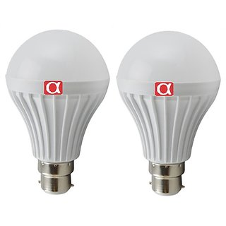 Alpha 9 Watt bulb pack of 2