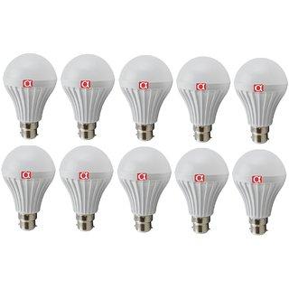 Alpha Pro B22 6-9 W Cool Daylight 450-800 Lumens LED Bulb Pack of 10