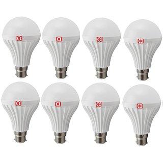 Alpha 9 Watt bulb pack of 8