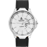 Ferry Rozer White Dial Day  Date Look Analog Watch - FR