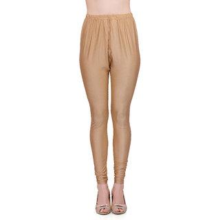 Gold lycra leggings