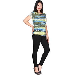 Yaya Multicolor Top For Women