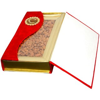 Red DryFruit Gift Pack  (Almond) - 500 gm