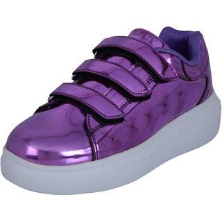 TEPCY Girls Velcro Sneakers PL
