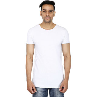 Stallion White Casual Men's T-Shirt by Be You
