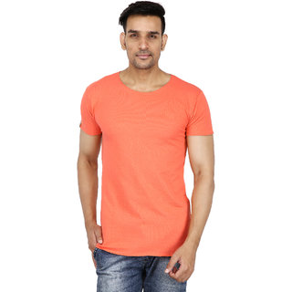 Stallion Peach Casual Men's T-Shirt by Be You