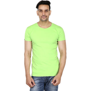 Stallion Green Casual Men's T-Shirt by Be You