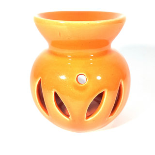 Ceramic Parrot Green Color Decorative Candle Aroma Oil Diffuser/Burner or Aroma Tea Light Diffuser
