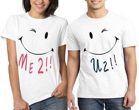 Me2 U2 Couple Combo T shirt