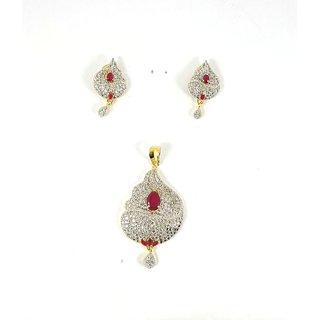 Pendant Set With Earing