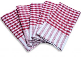 Shop By Room Kitchen Duster Wet Dry Cotton Cleaning Cloth / Mop 16 x 24 inch (Pack of 6)