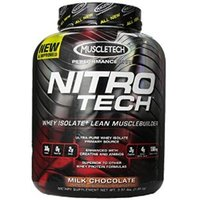 MuscleTech Nitrotech Performance Series 3.97 Lbs Milk Chocolate