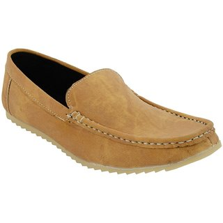 Clymb Gudiya Mouse Brown Loafers In Various Sizes