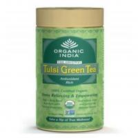 Organic India Pack of 3 Tulsi Green Tea 100 GM Tin