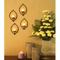 Hosley SET OF 4 WALL SCONCE WITH FROSTED GLASS