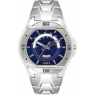 Timex Analog Blue Round Watch -TW000EL08