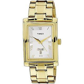 Timex Empera Analog Silver Dial Mens Watch - TW000G712