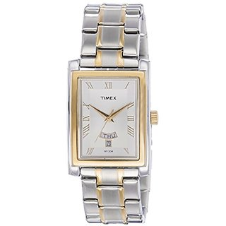 Timex Analog Silver Dial Mens Watch-TW000G714