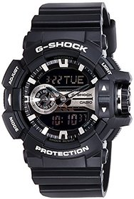 G-Shock Analog-Digital Grey Dial Mens Watch - GA-400GB-