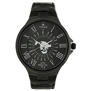 Titan Analog Black Dial Mens Watch-1706NL01