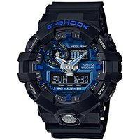 Casio G-shock Analog-Digital Blue Dial Mens Watch-GA-71