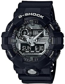 Casio G-shock Analog-Digital Grey Dial Mens Watch-GA-71