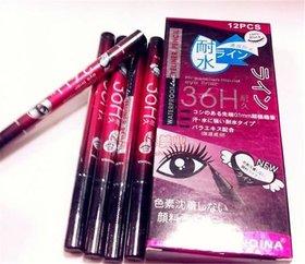 36HR New Eyeliner Makeup Yanqina Waterproof Eyeliner SKETCH PEN (pack of -2)