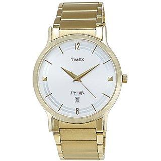 Timex Analog Silver Round Watch -TI000R420