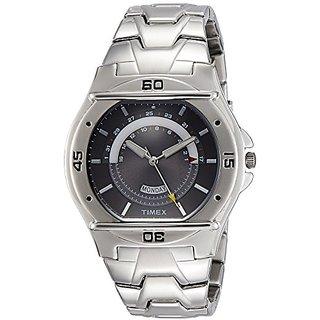 Timex Analog Grey Round Watch -TW000EL07