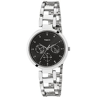 Timex Analog Black Round Watch - TW000X205