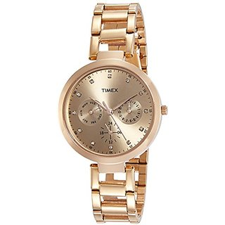Timex Analog Brown Dial Womens Watch-TW000X209