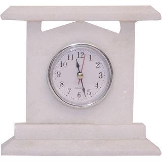 Marble Plain Clock