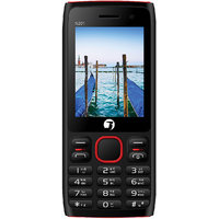 Jivi N201 Black- Red Selfie Camera 2.4 Display Dual Sim