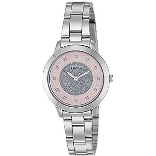 Timex Analog Pink Dial Womens Watch-TW000T613