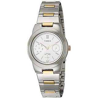 Timex Analog Silver Round Watch - TW000J108