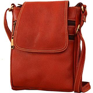 741fe7a335b1 Buy Genuine Leather Trendy Sling Bag Online - Get 5% Off