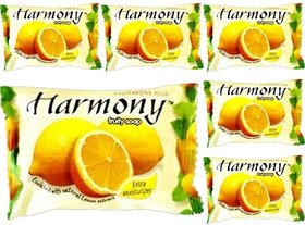 Harmony Lemon Fruity Soap (Pack of 6 - 75 grams each)