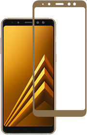 Tempered Glass Screen Samsung Galaxy A8 Plus (2018) - Gold