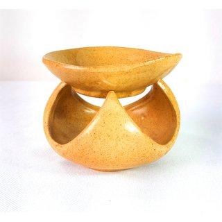 Ceramic Handmade Decorative Candle Aroma Oil Diffuser/Burner or Aroma Tea Light Diffuser