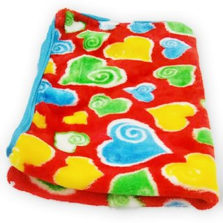 SAA Fashion Multicolor Designer Hooded Blanket Cum Wrap
