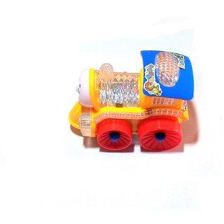 Go Musical Train with 4D Light ( Multicolor ), Size- 14/11 cm