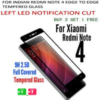 EDGE TO EDGE 2.5D Full Cover BLACK Color Tempered Glass