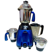 BLUEFLY CRUSO Mixer Grinder 750 Watts with 4 Jars (Metalic Blue)
